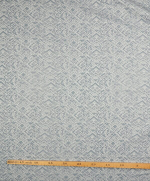 Bengalin - Lys denimblå m. lyst mønster -