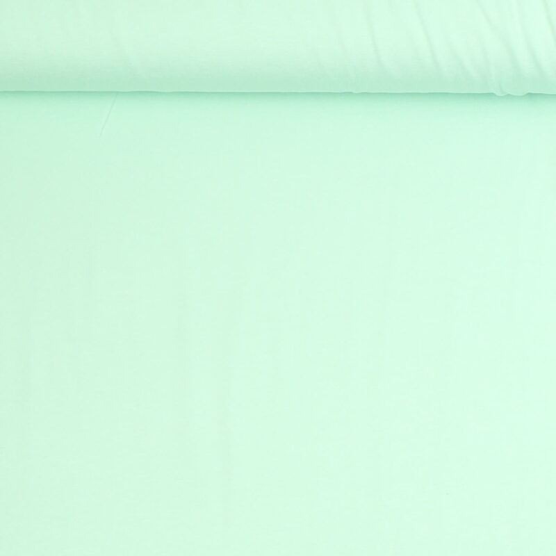 Mintgrøn - Viskose jersey -