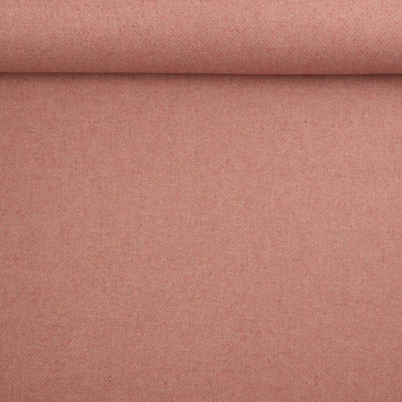 Lyse gammelrosa nuancer - Uld/polyester -