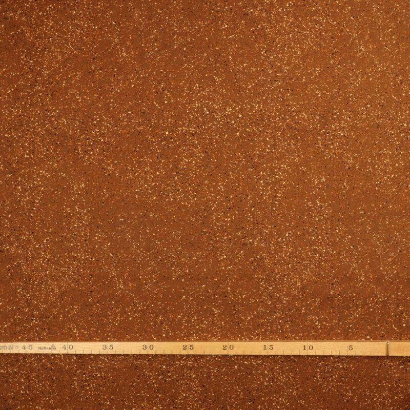 Stænk på lys brun bundfarve - Patchwork -