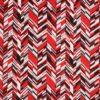 Rød/grå/sort/hvid - Patchwork -