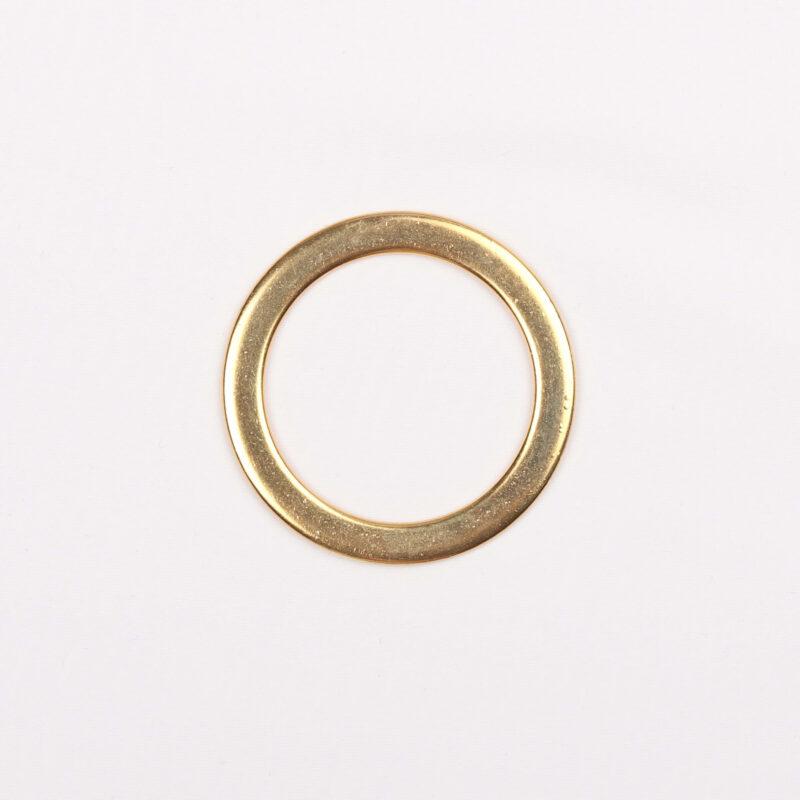 Guld ring 40 mm -