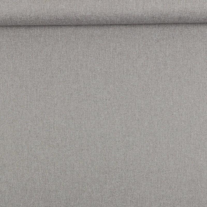 Lys grå melange - Bomuld/polyester -
