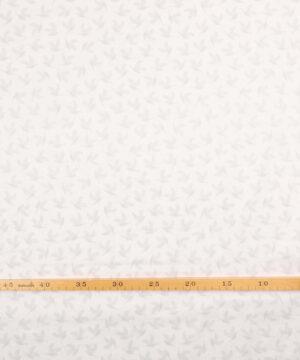 Patchwork - Grå duer på hvid bund - Info mangler