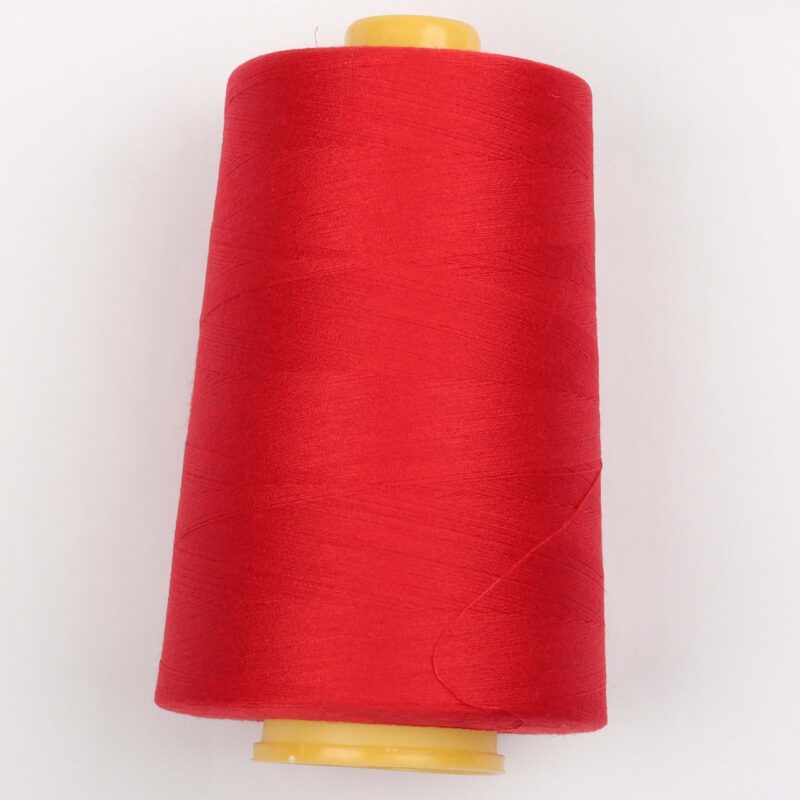 Overlocktråd - Rød -