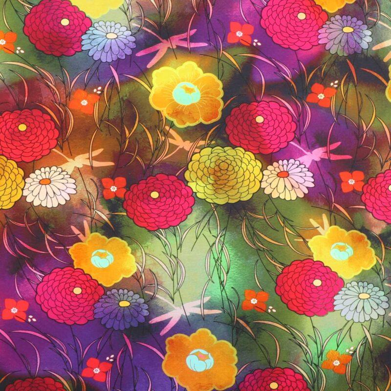 Blomster og guldsmede - Jersey -
