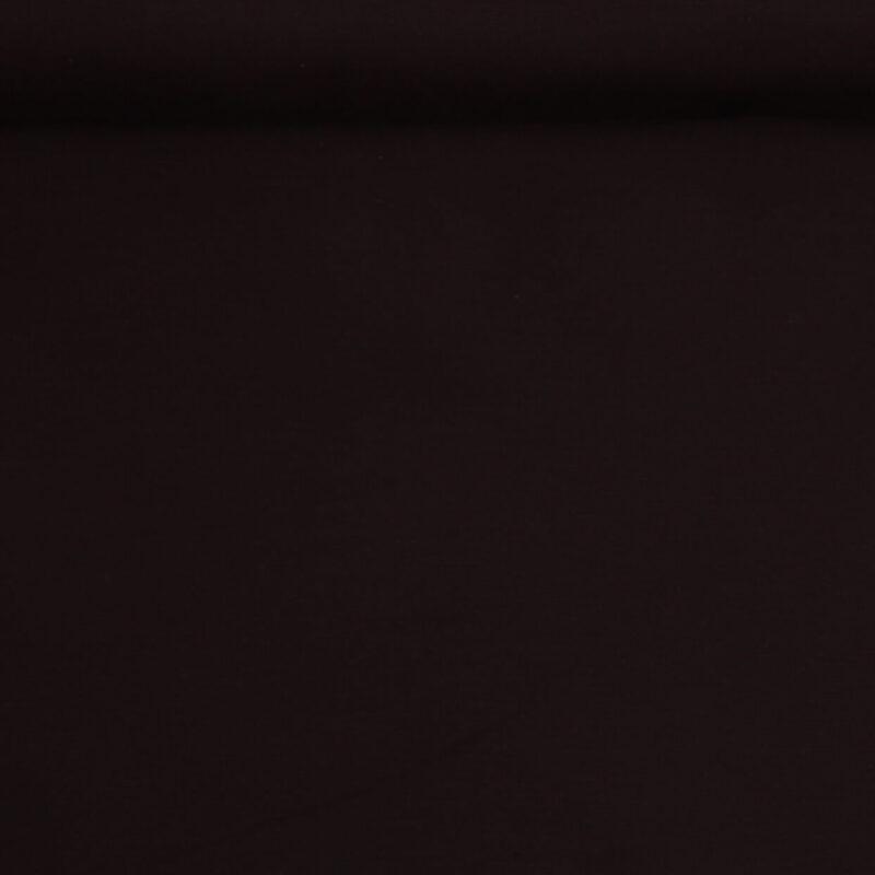 Meget mørkebrun - Bomuld/polyester -