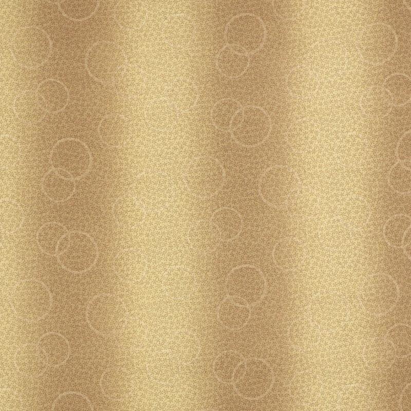 Patchwork - Gylden brune nuancer -