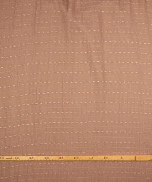Lys brun med vandret mønster -
