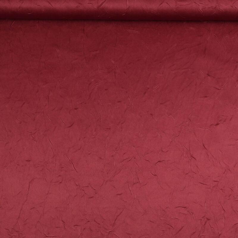 Bordeaux m. krøleffekt - Bade/bruseforhæng -