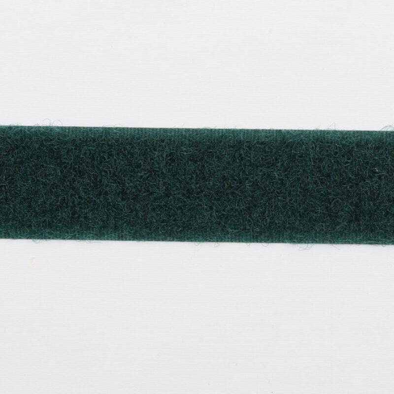 Grøn - Velcro 20 mm, loop -