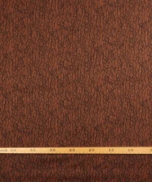 Barkmønster i brun - Patchwork -