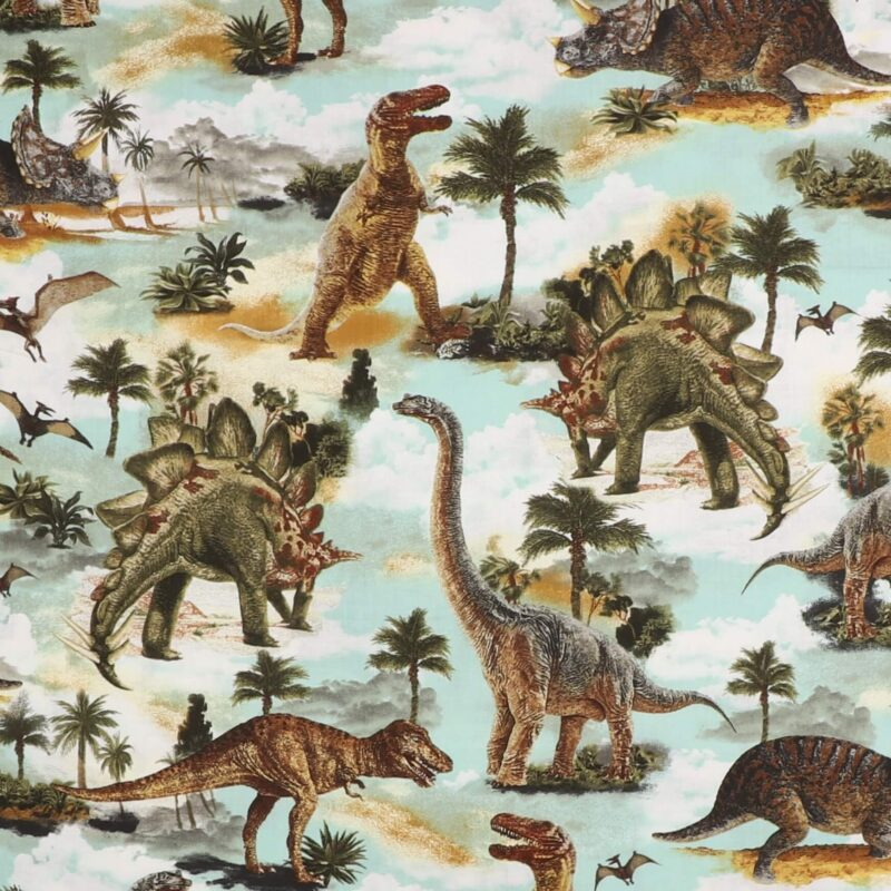 Dinosauer - Patchwork -