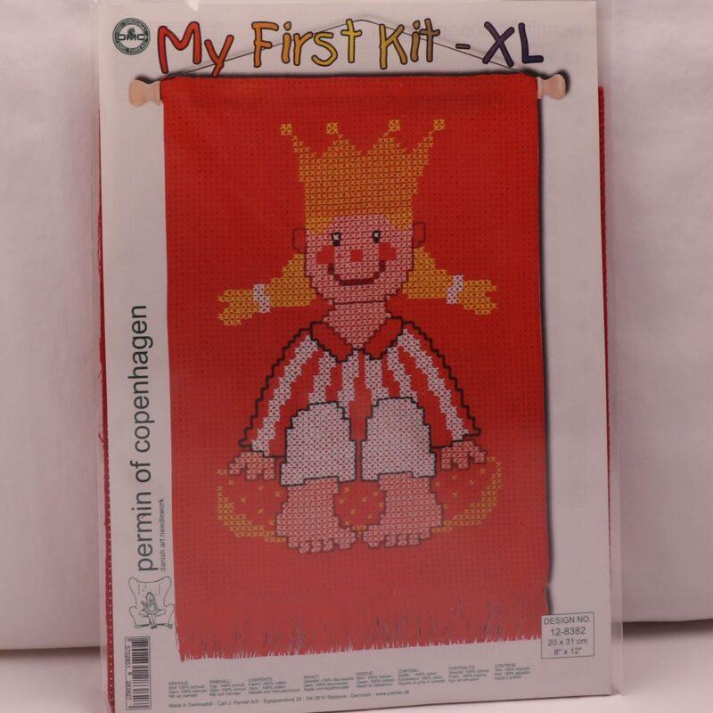 My first kit -XL - Prinsesse 20x31 cm -