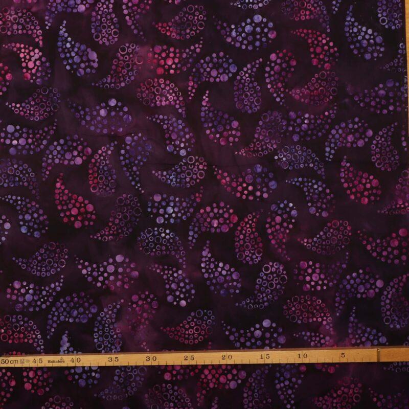 Mørkelilla m. mønster i lilla - Bali -
