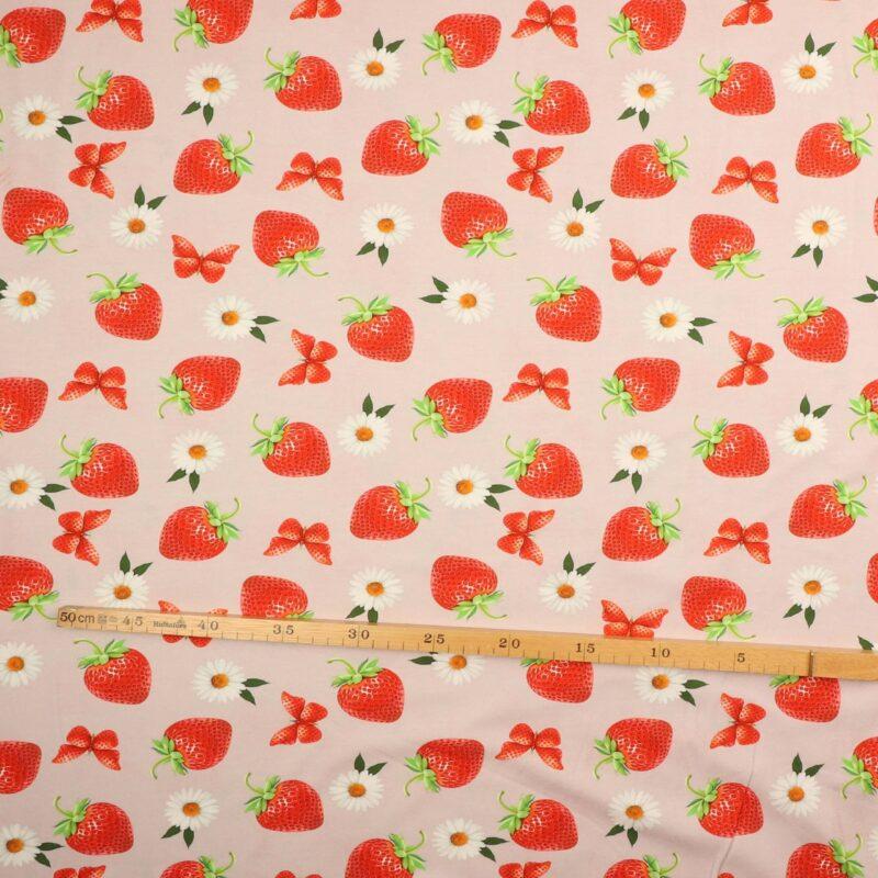 Jordbær og margueritter - Jersey -