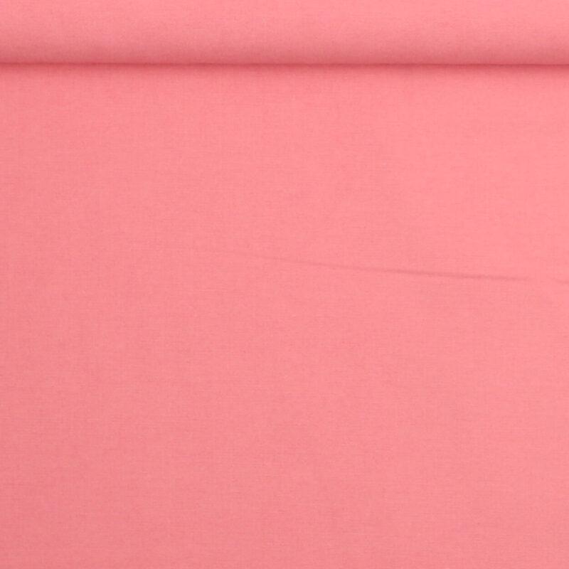 Mørk lyserød - Bomuld/polyester -