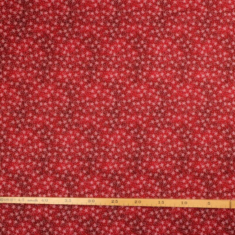 Rødbrune nuancer m. lyserødt - Patchwork -