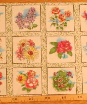 30 små blomstermotiver - Patchwork rapport (74) -