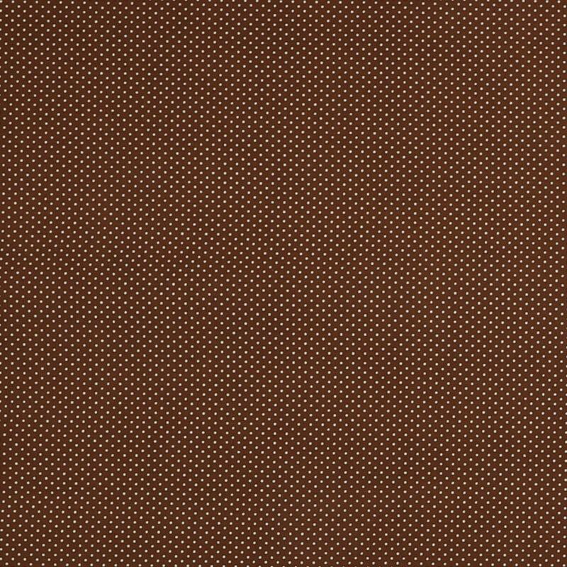 Små hvide prikker på brun - Patchwork -