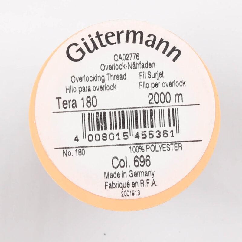 Tera 180 fra Gütermann - Mørkebrun -