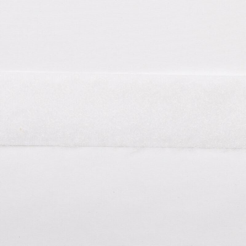 Hvid - gribebånd 20 mm, loop -