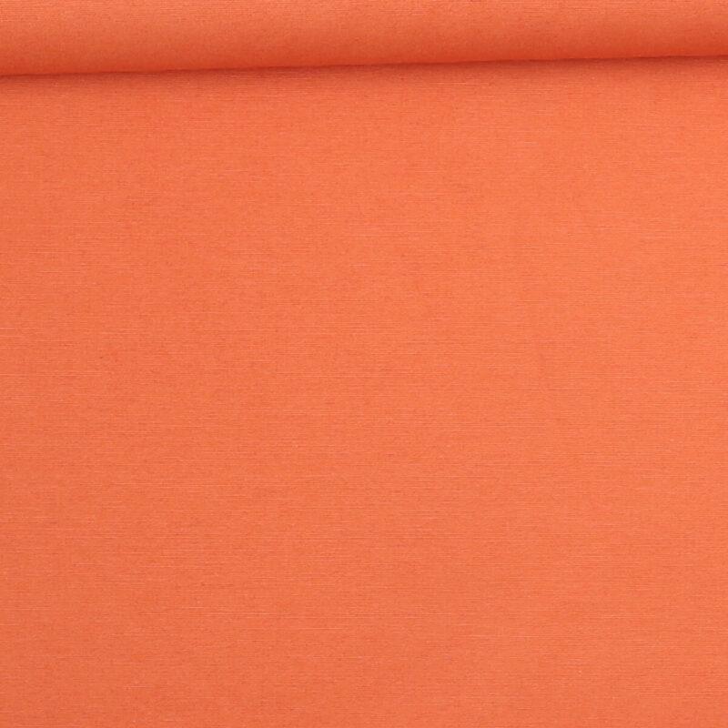 Lys brændt orange - Bomuld/polyester -