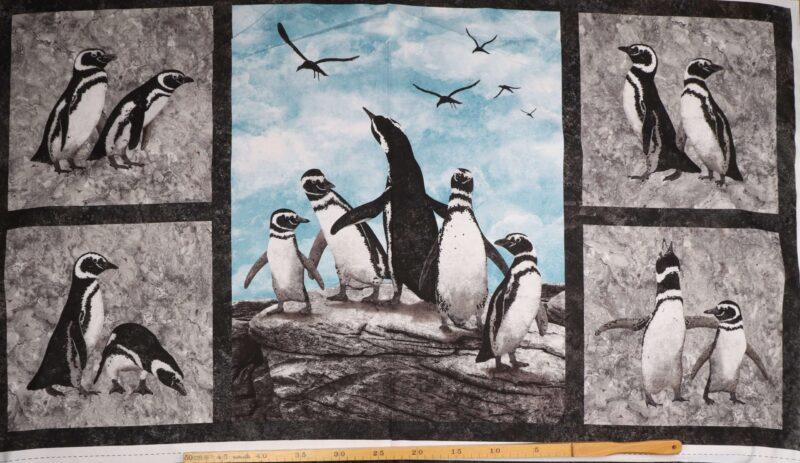 Pingviner - Patchwork -
