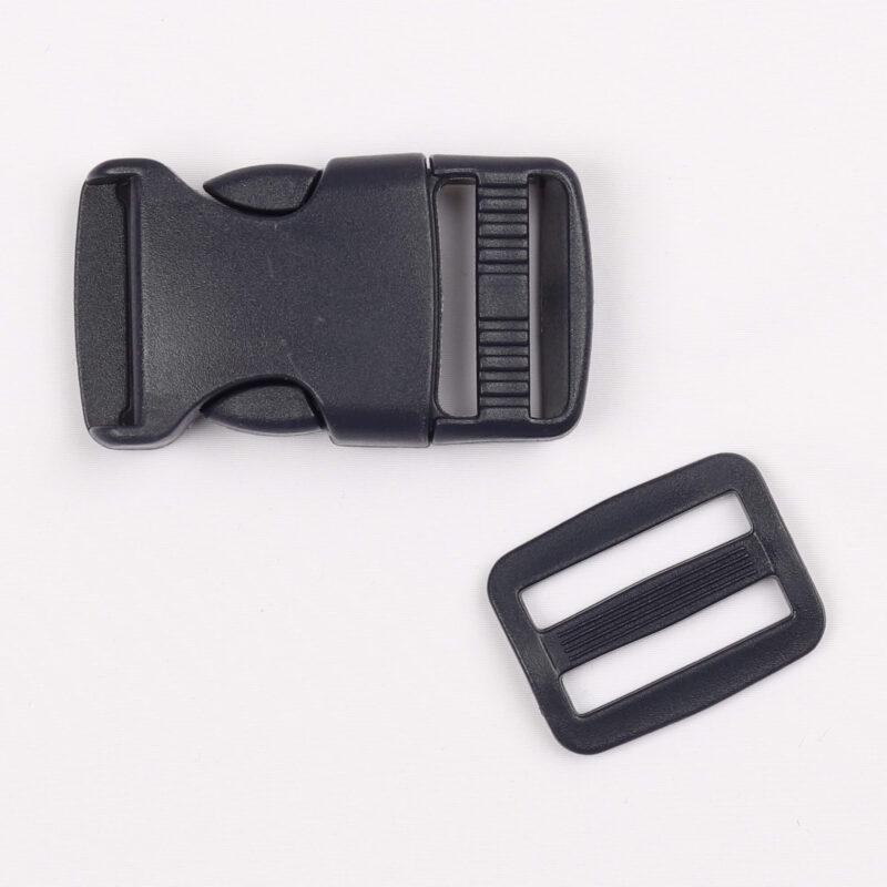 Klikspænde, 25 mm. marineblå -