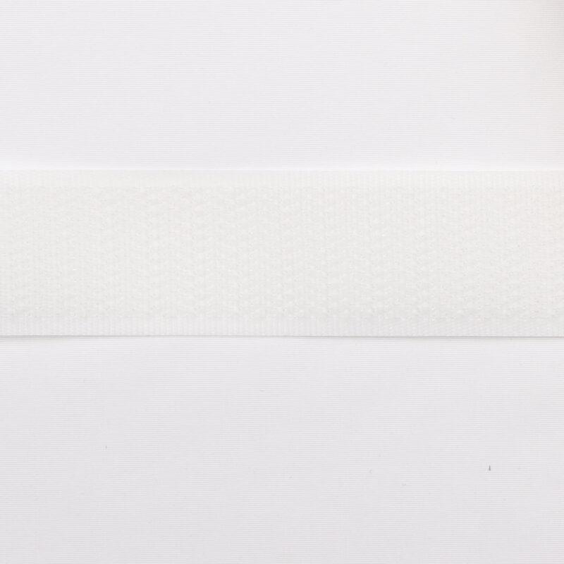 Hvid - gribebånd 20 mm, hook -