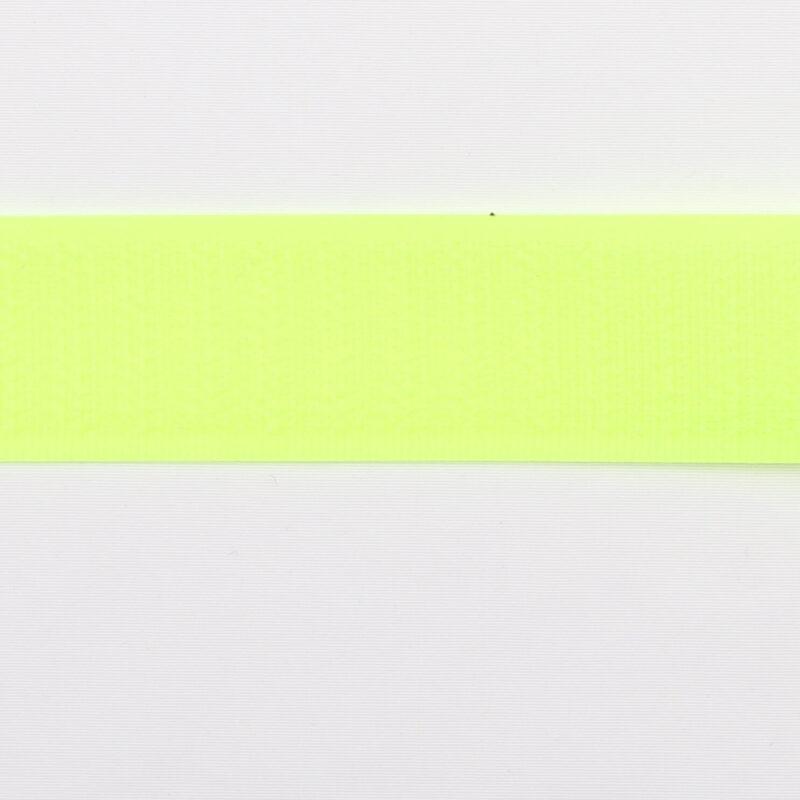 Neongul - gribebånd 20 mm, loop -
