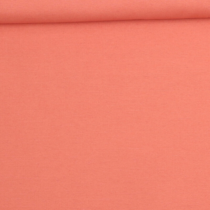 Lys koral - Bomuld/polyester -