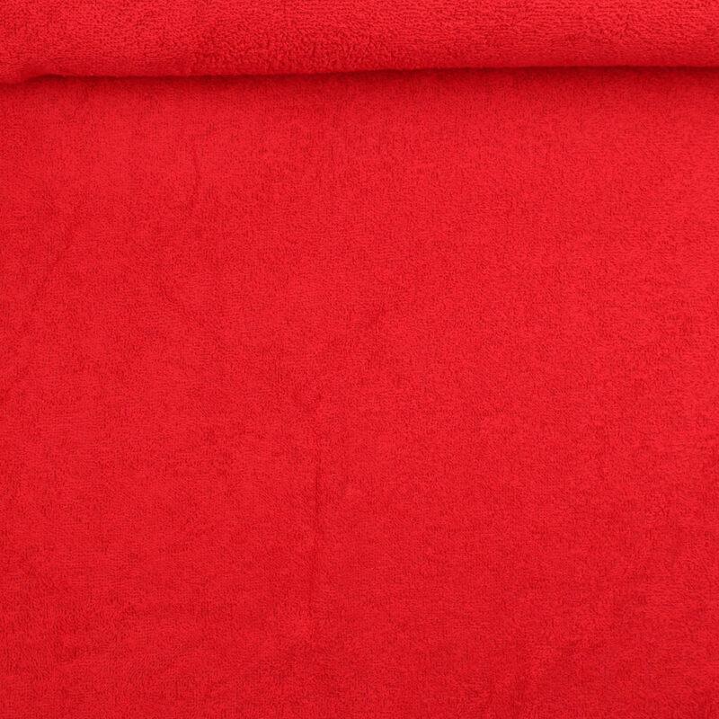 Frotté - rød -
