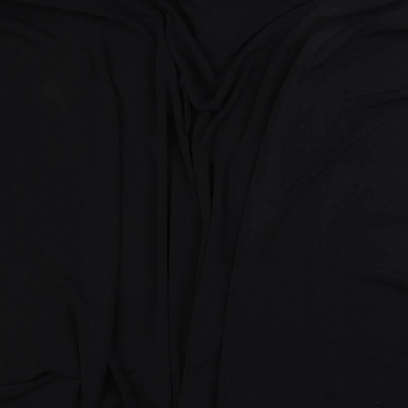 Marineblå - Bomuld/polyester jersey -