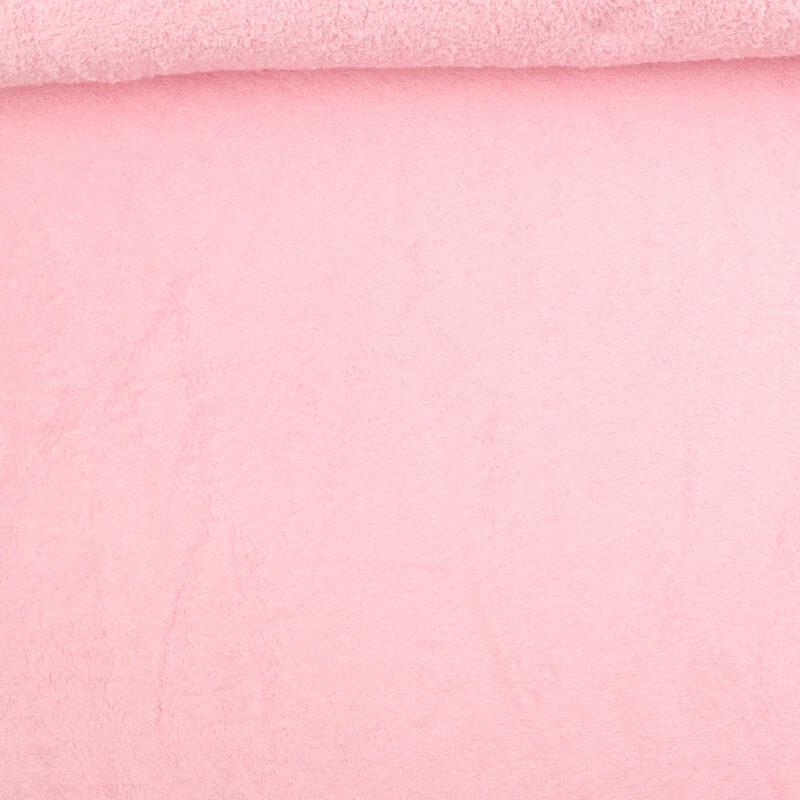 Frotté - lyserød -