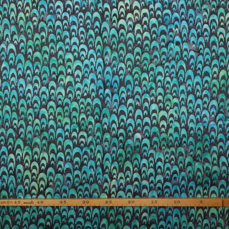 Blålilla/Lilla m. mønster - Bali -