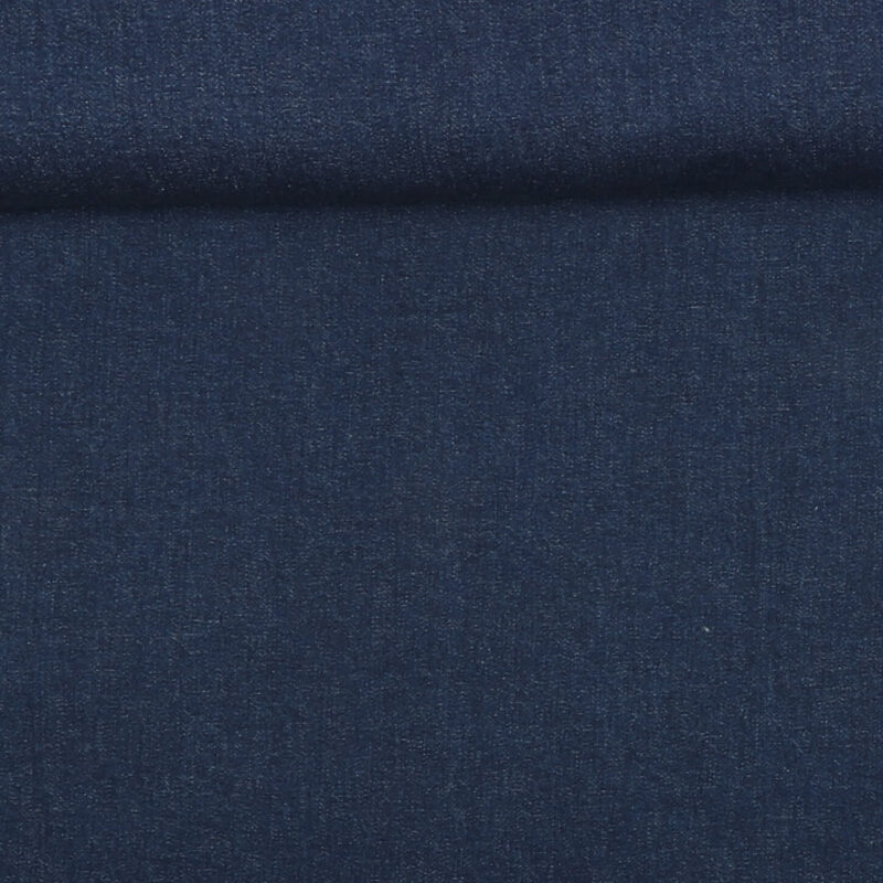 Denim, mørkeblå m. stretch -
