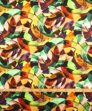 Multifarvet mønster - Jersey -