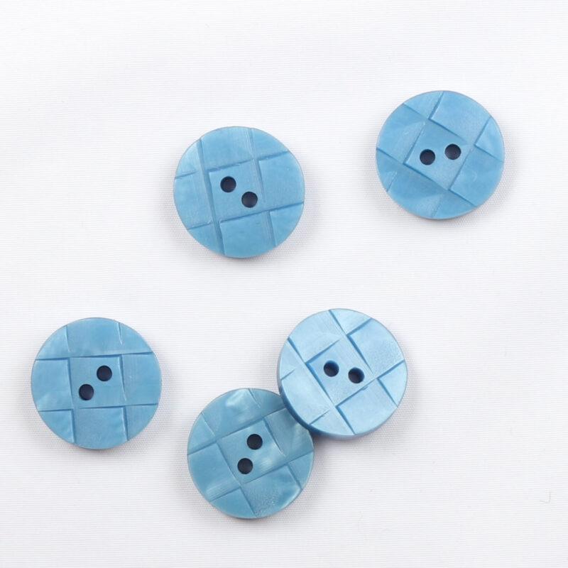 Blå, ø 15 mm -