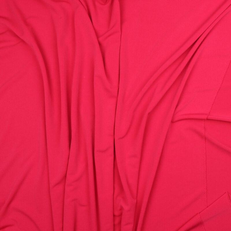 Mørk fersken - Bomuld/polyester jersey -