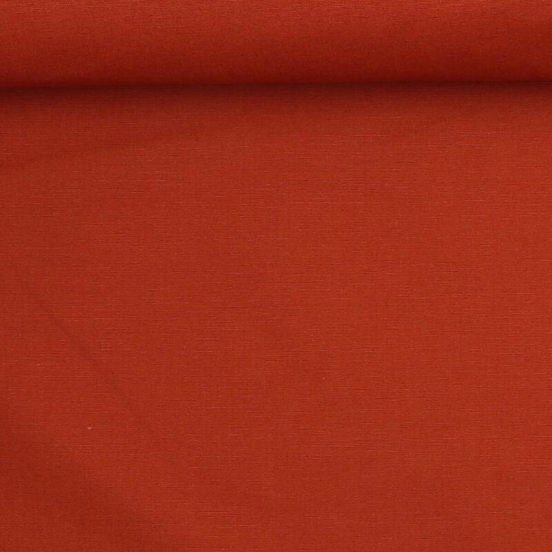 Mørk terracotta - Bomuld/polyester -