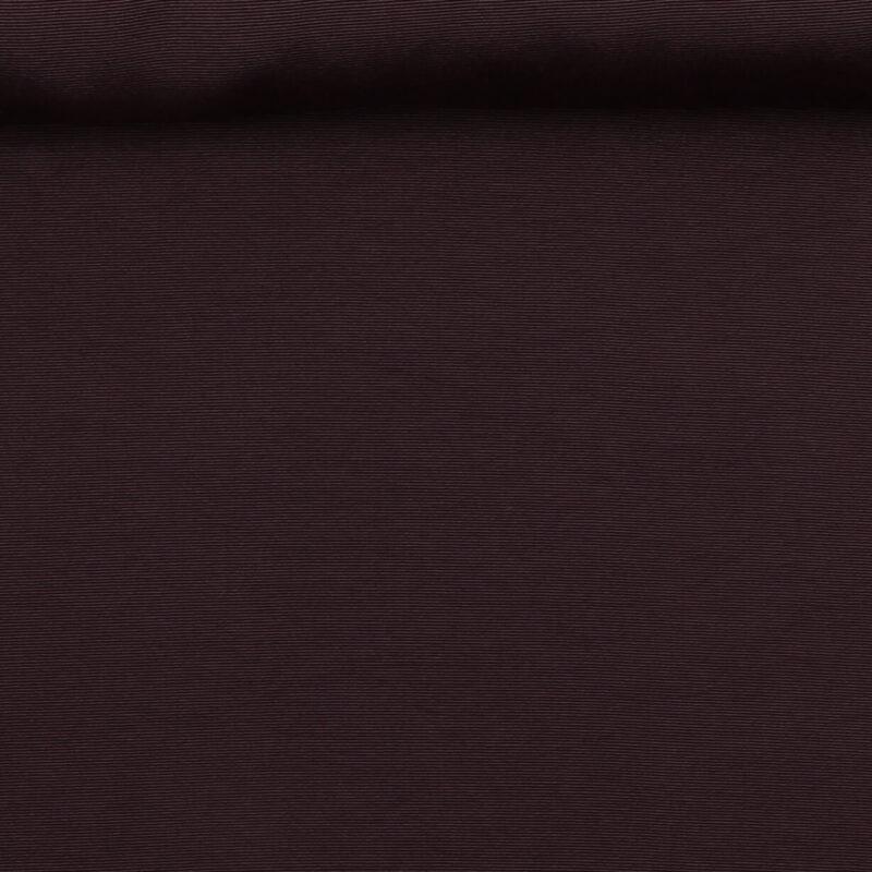 Mørkebrun (let rillet) - Bomuld/polyester -