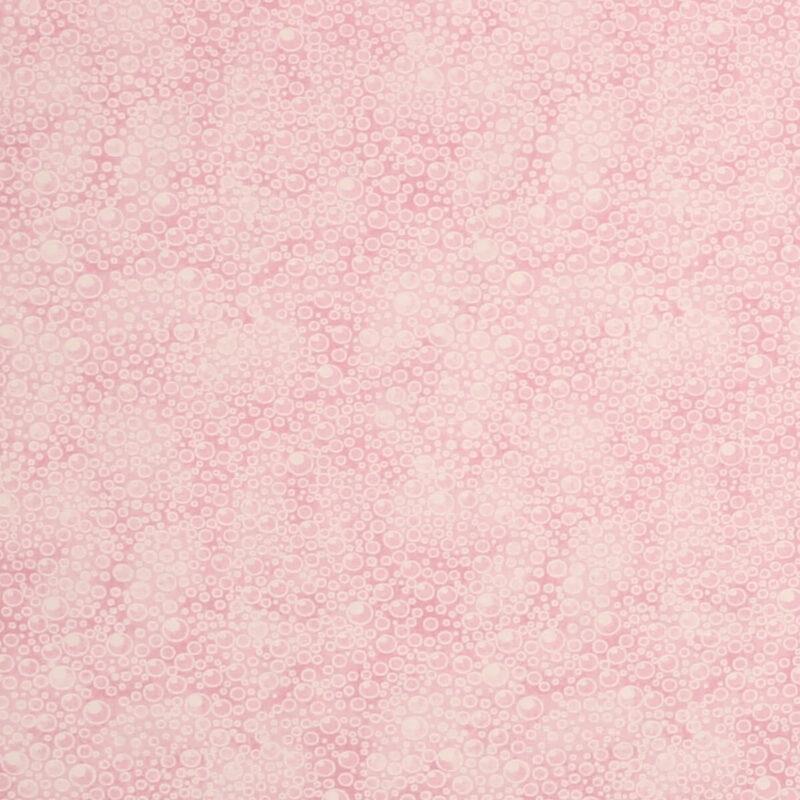 Boblemønster i lyserød - Patchwork -