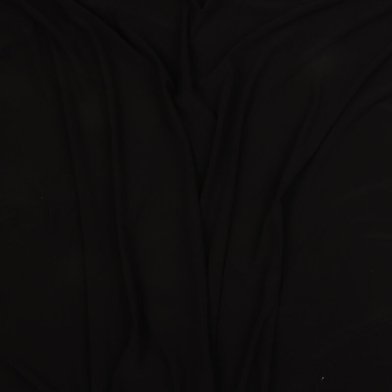 Sort - Bomuld/polyester jersey -