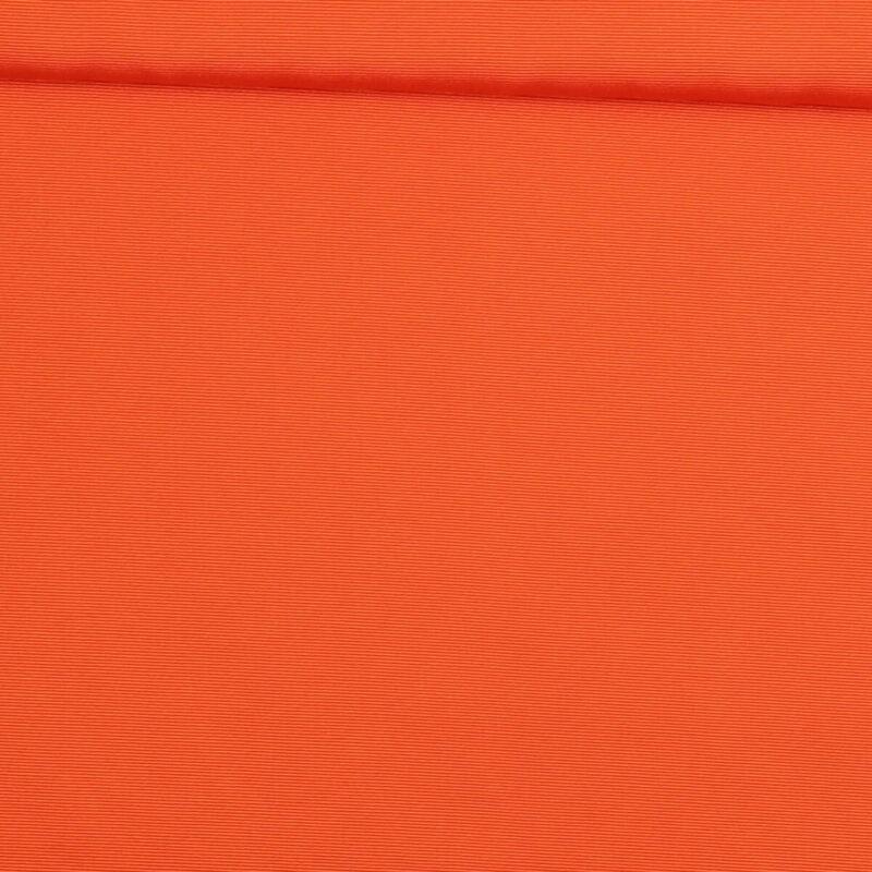 Orange (let rillet) - Bomuld/polyester -
