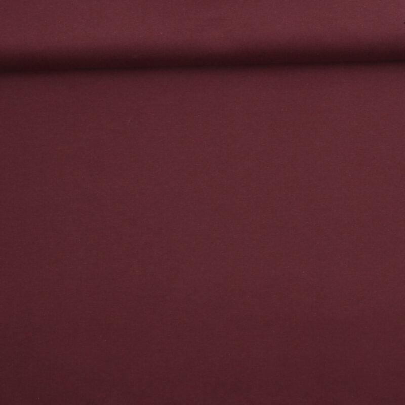 Lys aubergine - Ribbing jersey (GOTS certificeret) -
