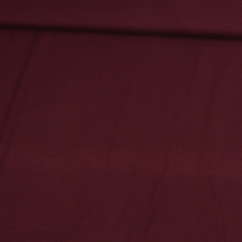 Bordeaux - Viskose jersey -