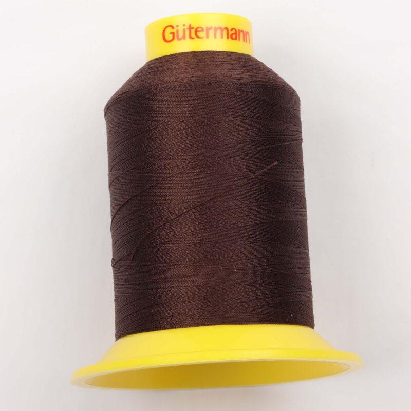 Maraflex 120 fra Gütermann, elastisk tråd - Mørkebrun -