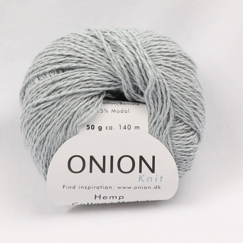 Onion Garn, Hamp/bomuld/modal - Lysegrå fv. 426 -