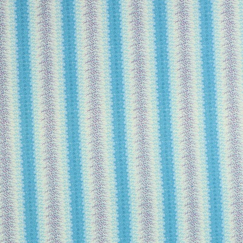 Patchwork - Blå nuancer -